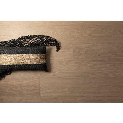 Woodura Cured Wood Eiken HOFTERUP v2 Brede plank Grijs Hardwaxolie Select 5G kliksysteem