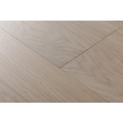 Woodura Cured Wood Eiken VISTORP v2 Brede plank Wit Matte lak Select 5G kliksysteem