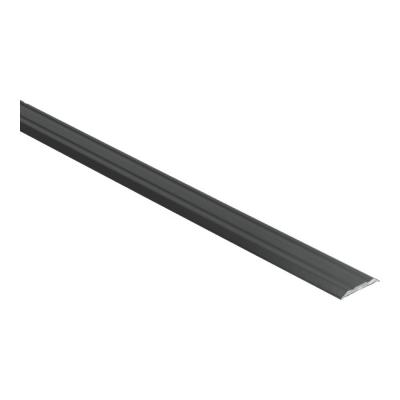 Dilatatieprofiel Zwart 25 mm alu zelfklevend, 2.70m