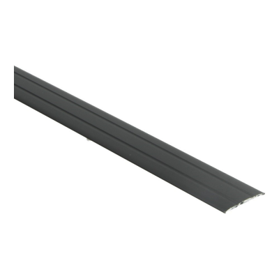 Dilatatieprofiel Zwart 38 mm alu zelfklevend, 1 m