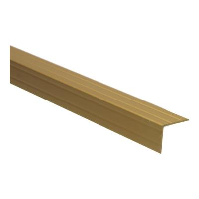 Duo-hoeklijnprofiel Goud 30x24,5mm, 2.70m