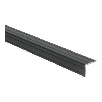 Duo-hoeklijnprofiel Zwart 30x24,5mm, 1 m