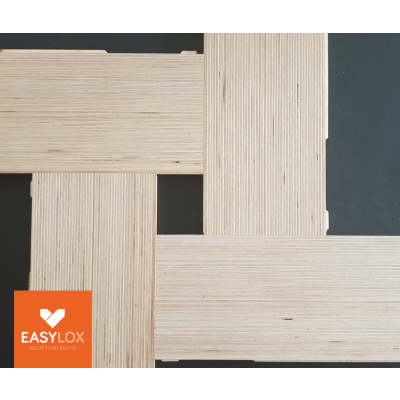 EASYLOX® Eiken houten parketvloer