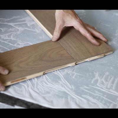 Easylox houten vloer leggen