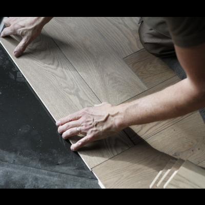 Easylox houten vloer plaatsing