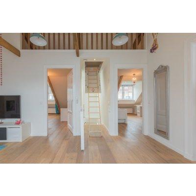 Restpartij houten vloer 40m2 Eiken lamel Rustiek A/B 24cm