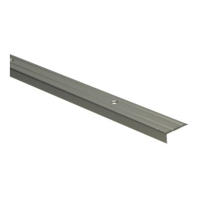 Hoeklijnprofiel RVS 10mm schroef, 2.70m