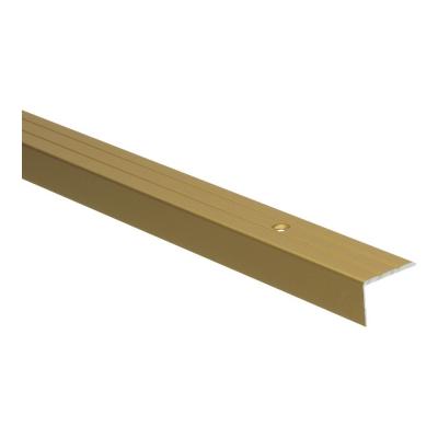 Hoeklijnprofiel Goud 17mm schroef, 2.70m