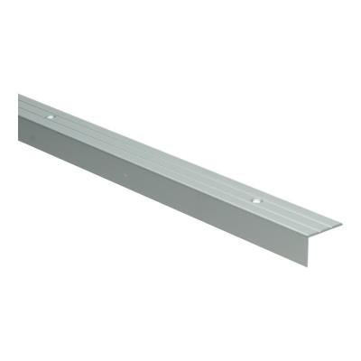 Hoeklijnprofiel Zilver 17 mm schroef, 2.70m