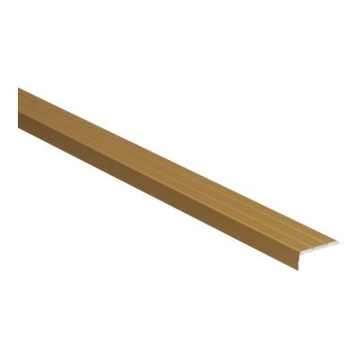 Hoeklijnprofiel Goud 10mm zelfklevend, 2.70m