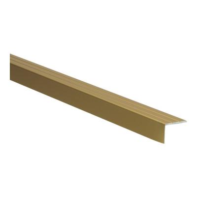 Hoeklijnprofiel Goud 17mm zelfklevend, 2.70m