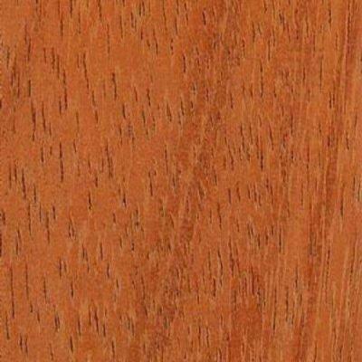 Iroko platte plinten 6x28mm