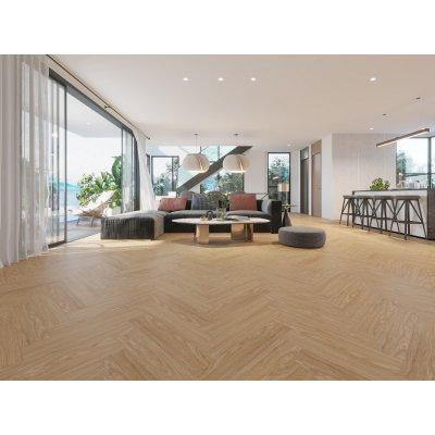 Alpha Floors SPC Click Visgraat PVC vloer Licht Select Eiken