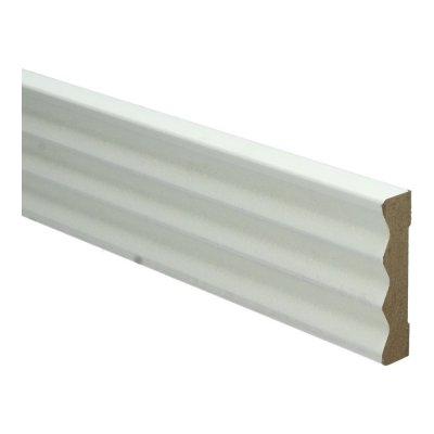 MDF Klassieke architraaf 70x15x2700mm wit voorgelakt RAL 9010