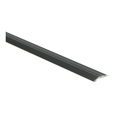 Overgangsprofiel Zwart 5x28mm alu zelfklevend, 2.70m