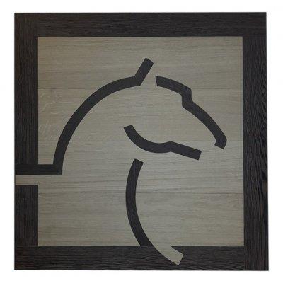 Elite Parquet Houten Medaillon Logo Pegasus