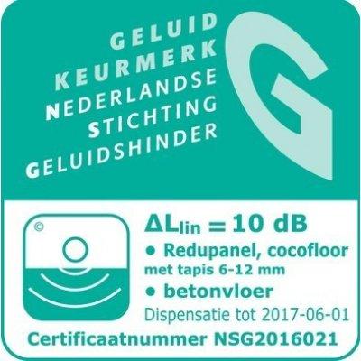 Redu-Panel ondervloer 25mm, 240x60 cm