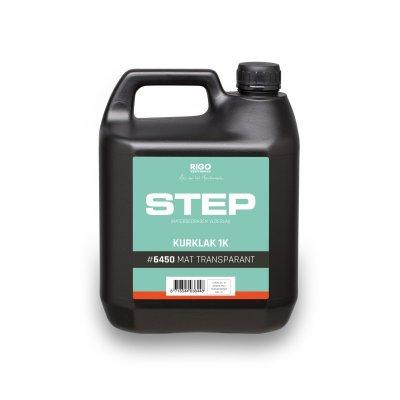 RigoStep Step Kurklak 6450 1K Transparant Mat 4L