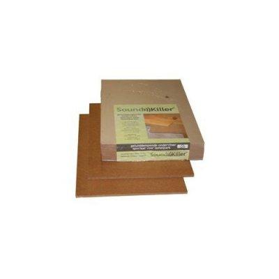 Soundkiller ondervloer 15mm lamelparket -10d, 4.06 m2