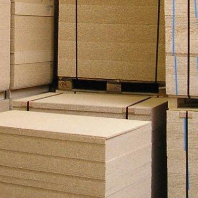 Spaanplaat ondervloer platen 12mm, pallet