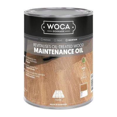 WoCa Onderhoudsolie Grijs 1000 ml