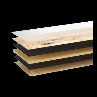 Woodura Cured Wood Eiken GRYBY v2 Brede plank Grijs Matte lak Select 5G kliksysteem