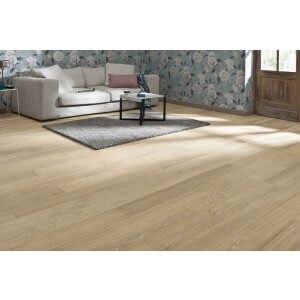Restpartij vloerbedekking hout 50m2 Eiken Select/Rustiek A 18cm