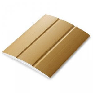Dilatatieprofiel Goud 25 mm alu schroef, 2.70m