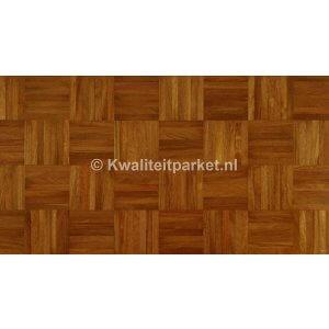 Afzelia Doussie mozaiek parket, 160x160mm, 8mm
