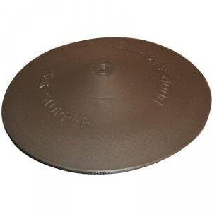 Deurvanger Aluminium-look, deurstopper voor op de vloer.