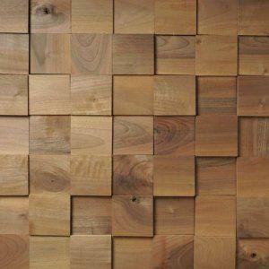 Houten Wandpanelen Walnoten Vierkant Groot, 0.8424 m2