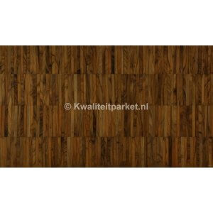 Teak hoogkant mozaiek, Industrie, 14mm hoog, 14mm breed