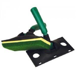 Padhouder met pad 9 inch (voor aanbrengen loog/stain)