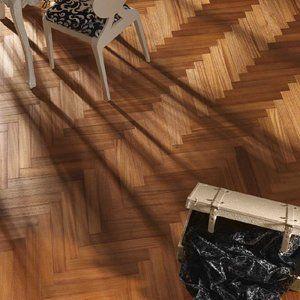 Afzelia Doussie Visgraat vloer inclusief montage