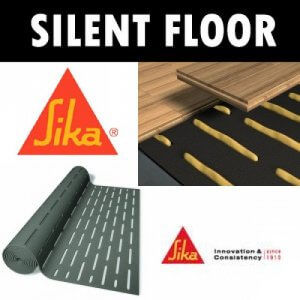 Sika Layer Silent 5mm ondervloer, 20m2 per rol