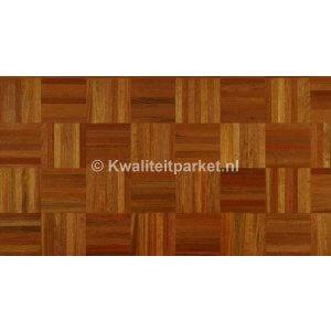 Jatoba mozaiek parket, 160x160mm, 8mm