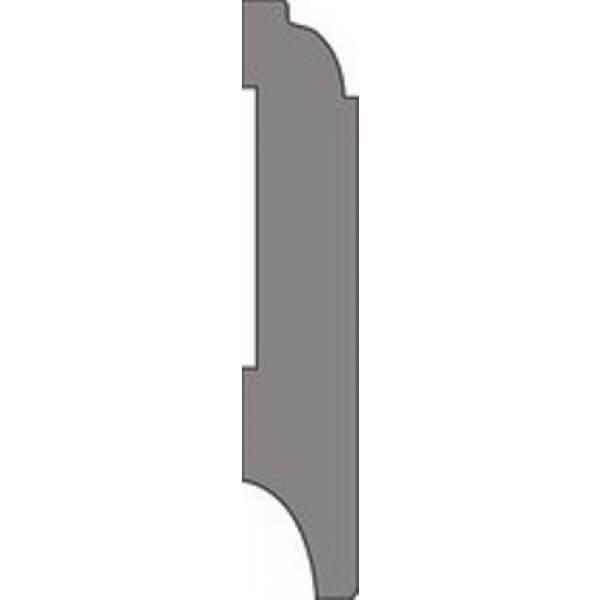 MDF Eigentijdse plint 90x15mm