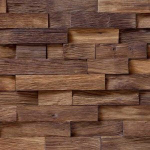 Woodbricks Wandpanelen Gerookt Naturel Geolied
