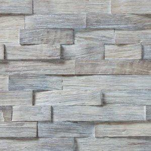 Woodbricks Wandpanelen Gerookt Wit Geolied